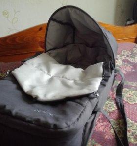 Люлька-переноска для новорожденных