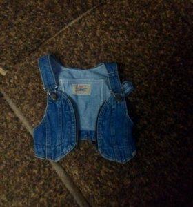 Жилетка джинса