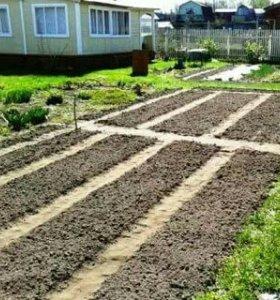 Вспашка огородов