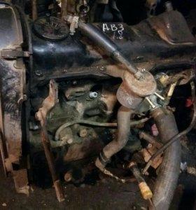 Двигатель Ауди 80 Б3 1.8
