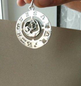 Кулон знак зодиака дева