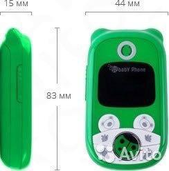 Детский телефон с функцией родительского контроля