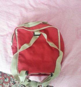 Рюкзак и сэлфи-палка