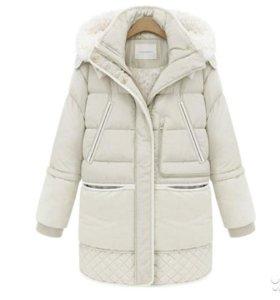 Новая куртка-пуховик 48-50 осень-зима