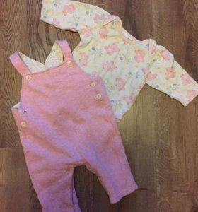 Одежда на малыша от 0-74