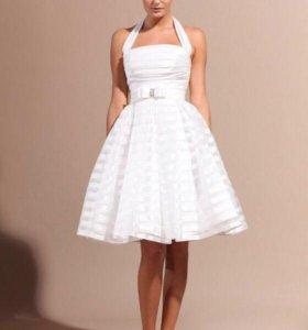 «То самое» короткое свадебное платье Айна!