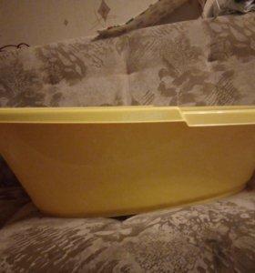 Ванночка детская + 2 горки