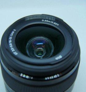 Объектив Sony DT 18-55 mm f/ 3.5-5.6 SAM II