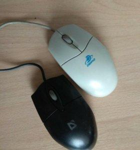 Мышка компьютерная, проводная