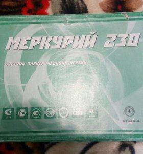 Электросчетчик меркурий 230