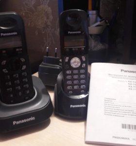 Panasonic KX-TG1401 с доп базой