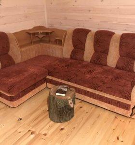 Продаю диван и кресло в хорошем состоянии