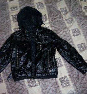 Куртка двухсторонняя 44размер