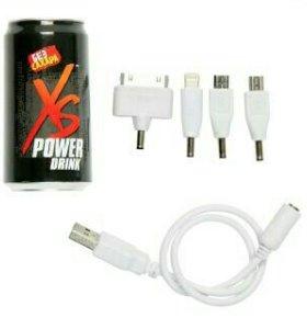 Внешний аккумулятор xs power drink новый