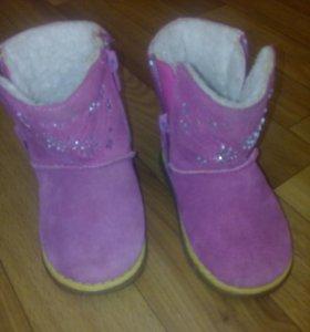 Уги, зимние ботинки