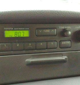 Радиоприемник Тойота + FM конвертер в подарок