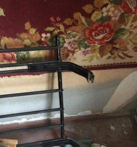 Багажник на крышку решеткой на ваз 2101-07