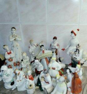 Фарфоровые статуэтки СССР