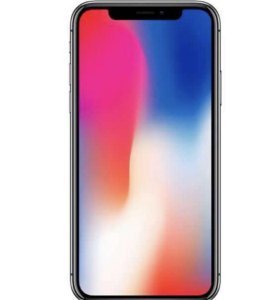 iPhone x 64 silver grey