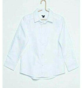 Рубашка для мальчика рост 114-119см