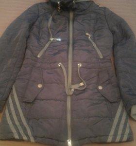 Пальто на девочку 10-12 лет размер S