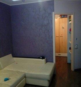Квартира, 1 комната, 40.4 м²