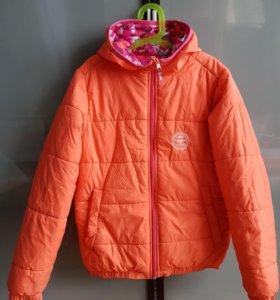 Куртка зимняя на 10-11 лет