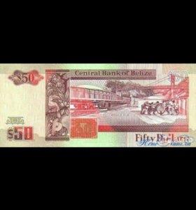 Коллекционный белизский доллар 2010 года
