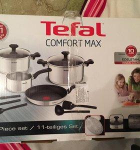 Набор посуды Tefal,новый