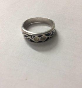 Кольцо, серебро (мужское)