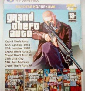 GTA компьютерная игра в хорошем состоянии