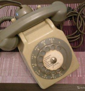 Французский дисковый телефон Socotel S63