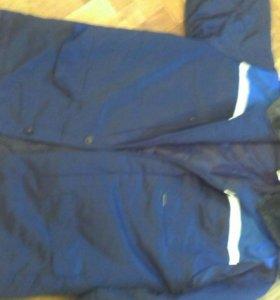 Штаны ватные куртка рабочая бушлат зимний комбензо