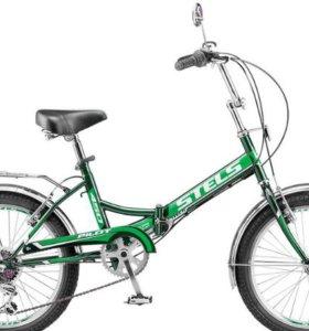 Новый дорожный, складной велосипед Stels Pilot 450