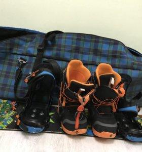 Комплект для катания на сноуборде детский