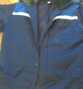 Ватник рабочий новая куртка зима роба тулуп спецов