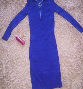 Платье лапша люрекс