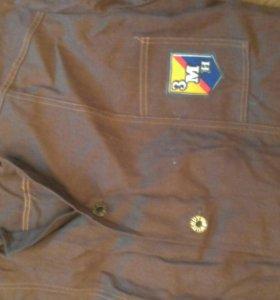 Спецовка ссср новая куртка рабочая винтаж лесная .