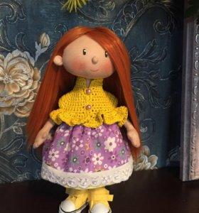 Текстильная кукла отличный подарок