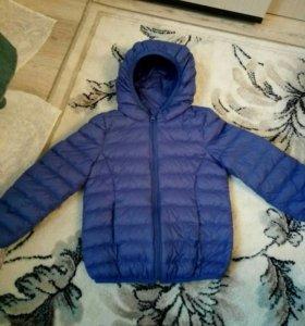 детская куртка 104-110