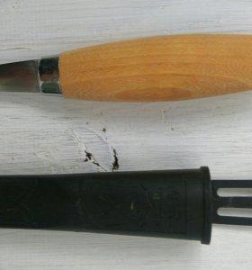 Нож для работ по дереву mora