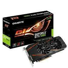 GIGABYTE GeForce GTX 1060 G1 GAMING 6Гб