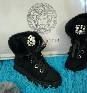 Женские ботинки зима новые