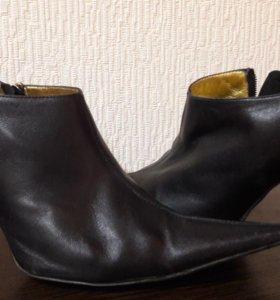 Ботинки кожаные итальянские