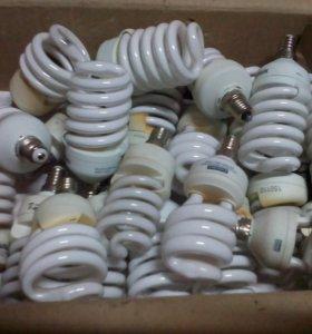 Лампы энергосберегающие б/у