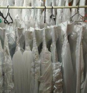 Б/У свадебные платья.