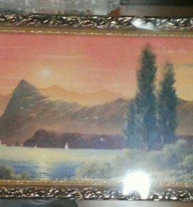 Картина в рамке