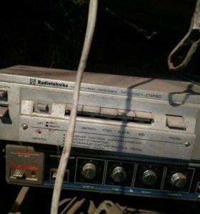 Магнитофон приставка радиотехника