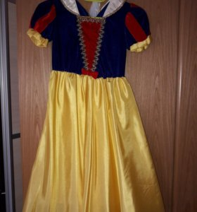Новогднее платье Белоснежка