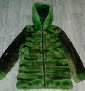 Меховая куртка из нерпы